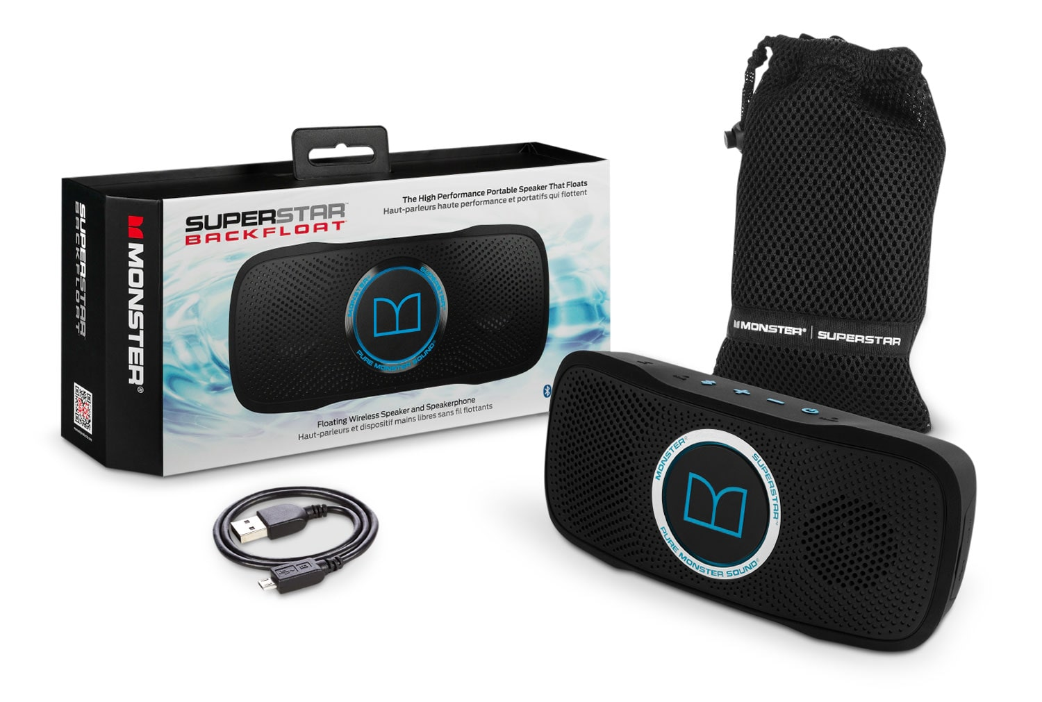 Sound Systems - Monster SuperStar BackFloat™ Waterproof Bluetooth Speaker