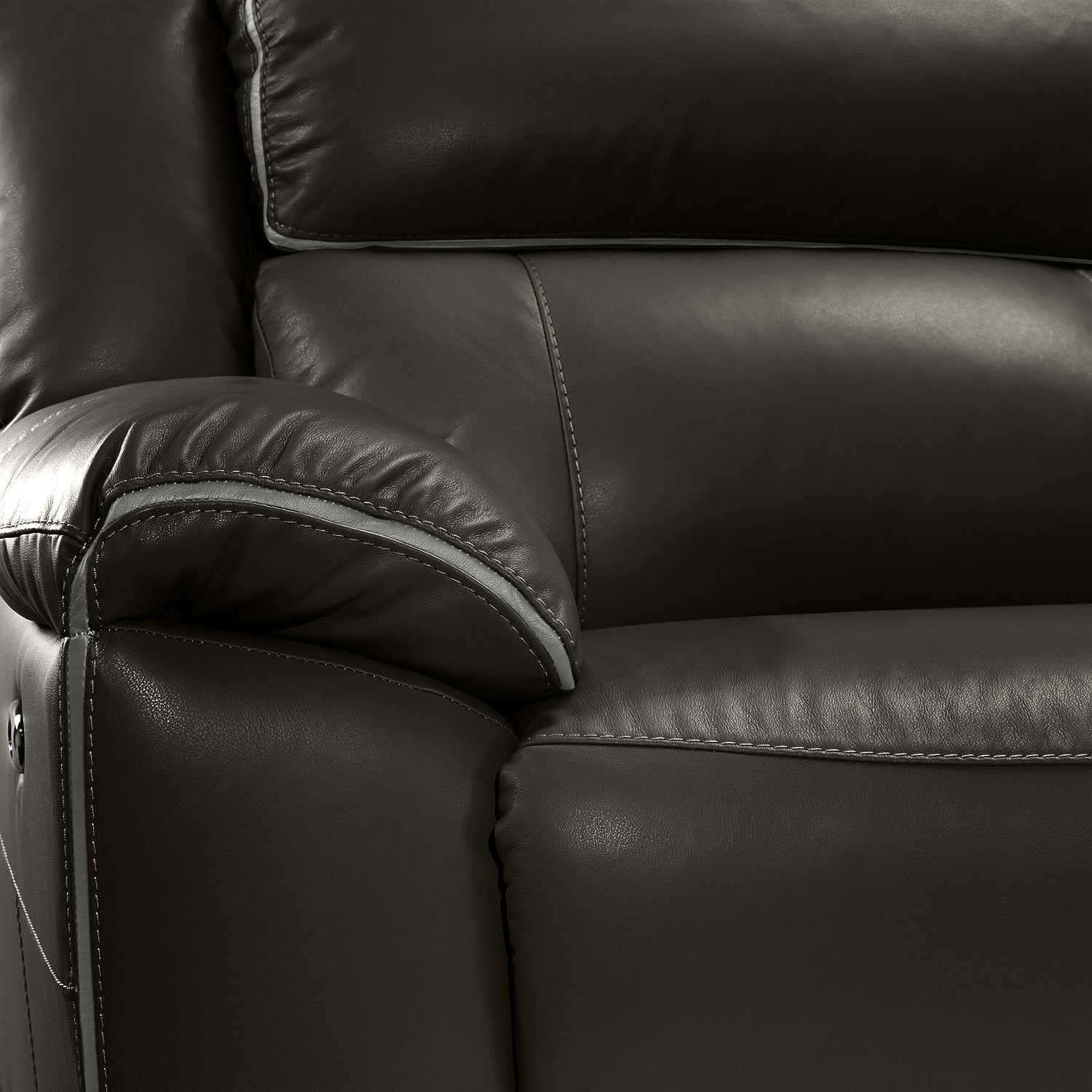 Holton 6 Piece Sectional Charcoal Grey