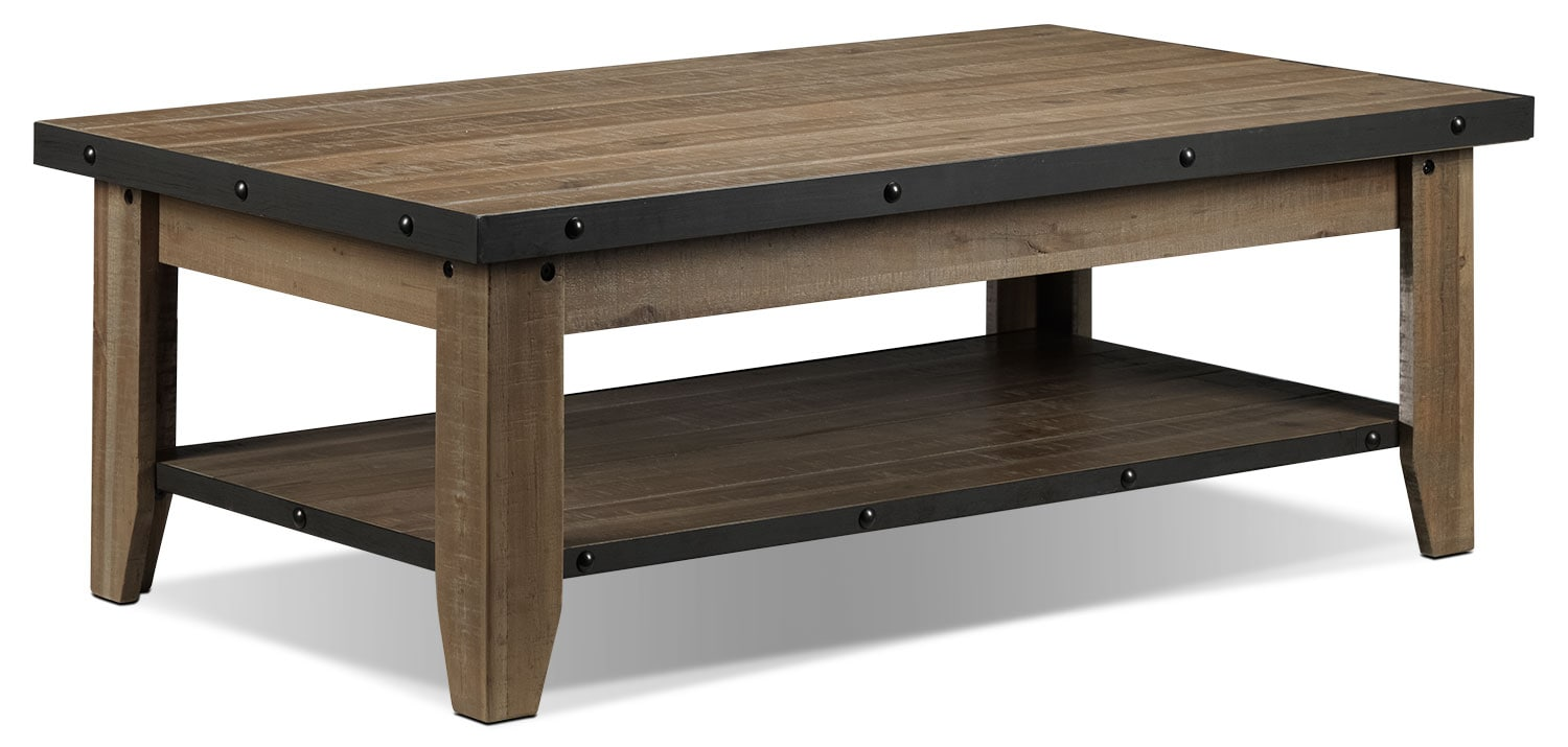 Accent and Occasional Furniture - Walton Coffee Table - Natural