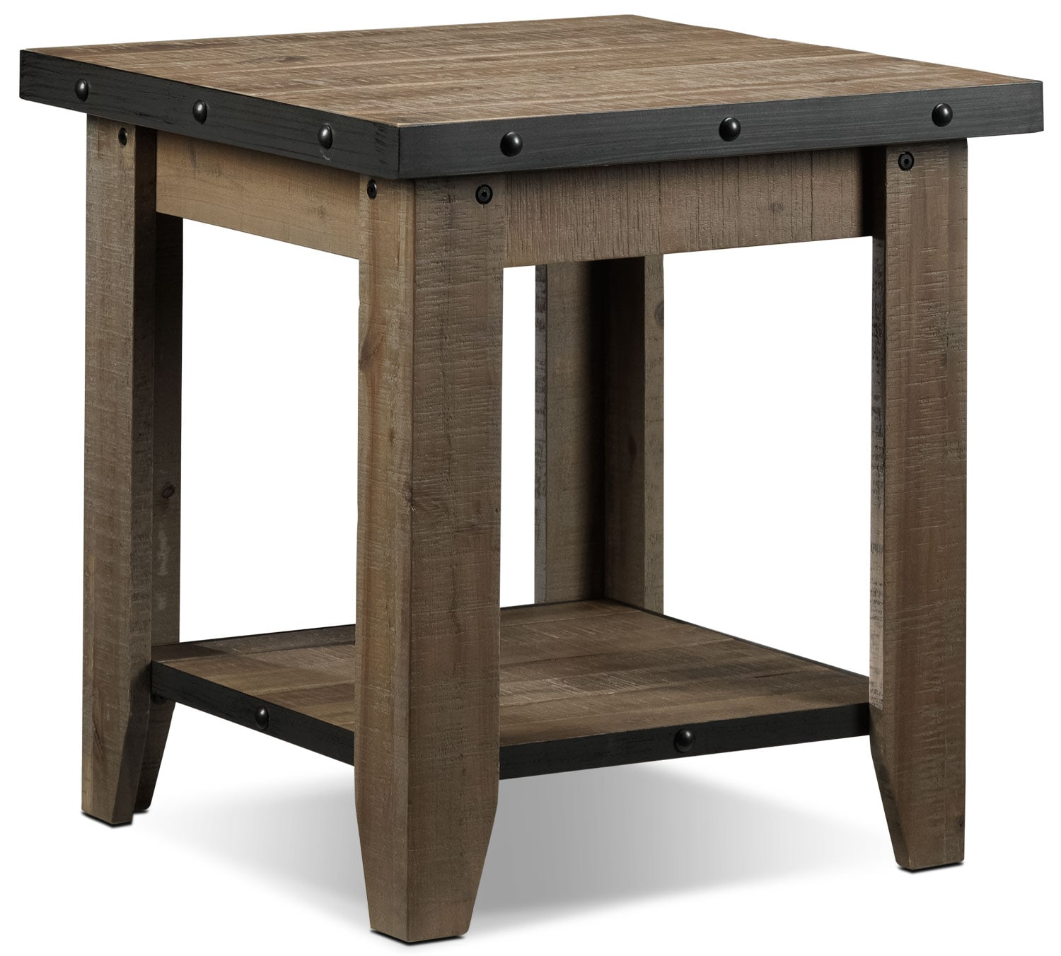 Walton End Table - Natural