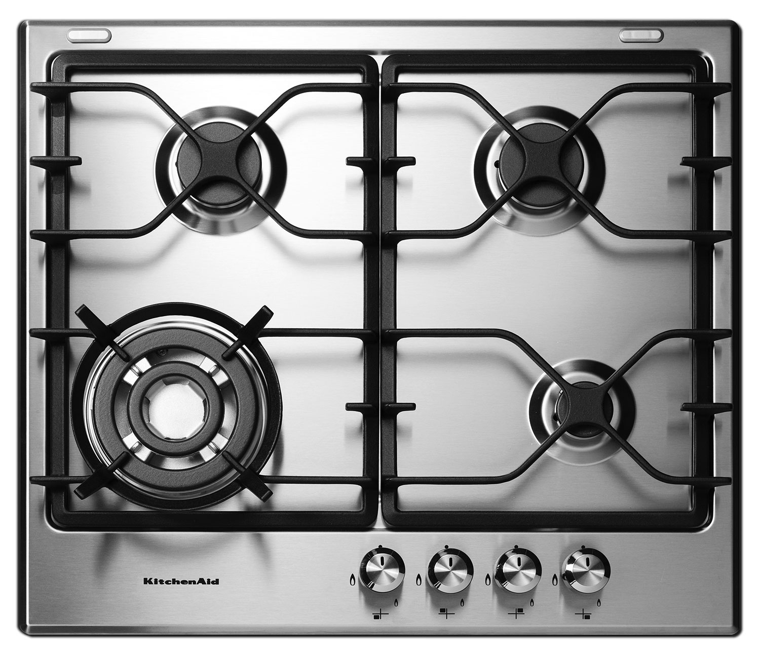 Cooking Products - KitchenAid Stainless Steel Gas Cooktop - KGCK346BSS