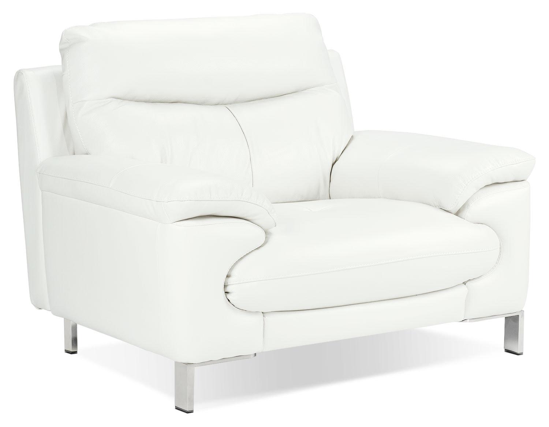 Living Room Furniture - Anika Chair - White