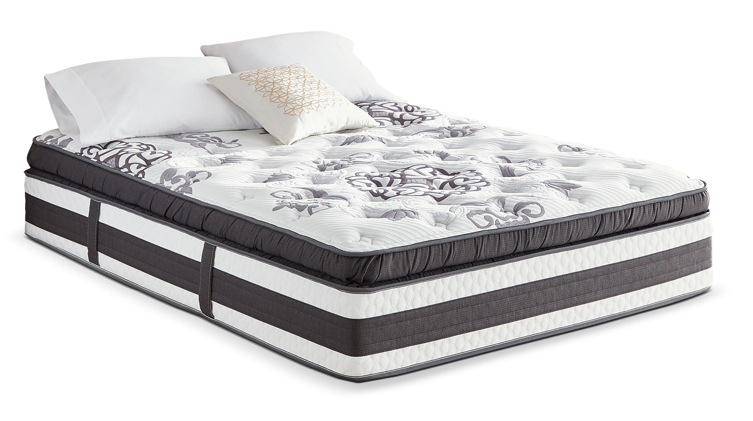 Mattresses and Bedding - Serta iCollection Hopedale Super Pillow-Top Plush Twin XL Mattress