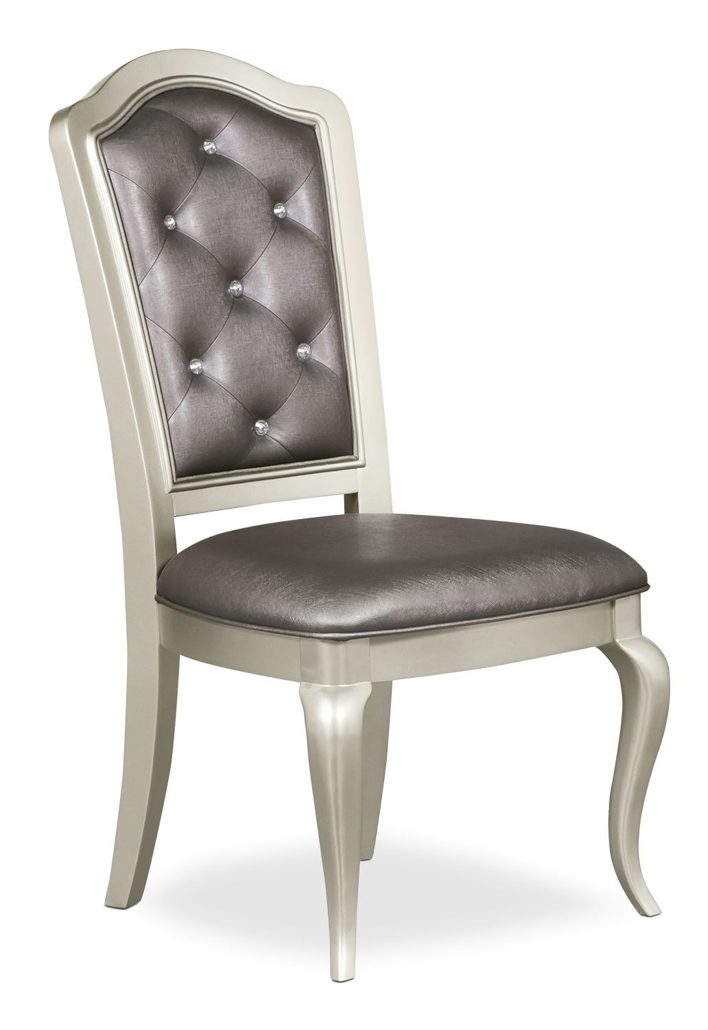 Dining Room Furniture - Diva Side Chair - Frost