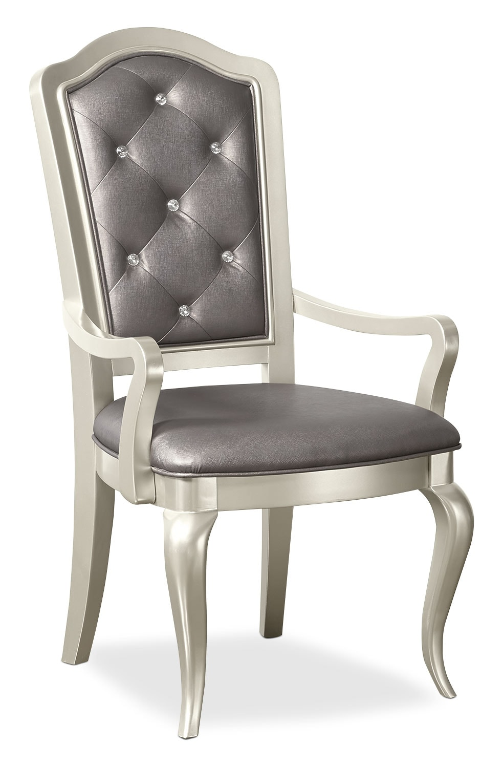 Dining Room Furniture - Diva Arm Chair - Frost