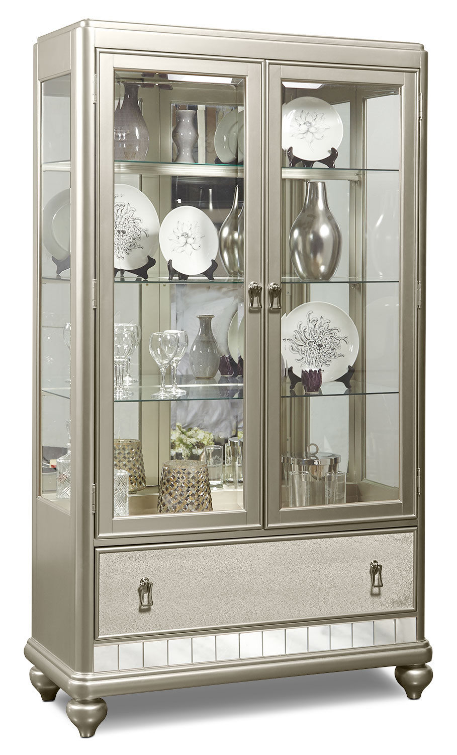 Dining Room Furniture - Diva China Cabinet - Frost