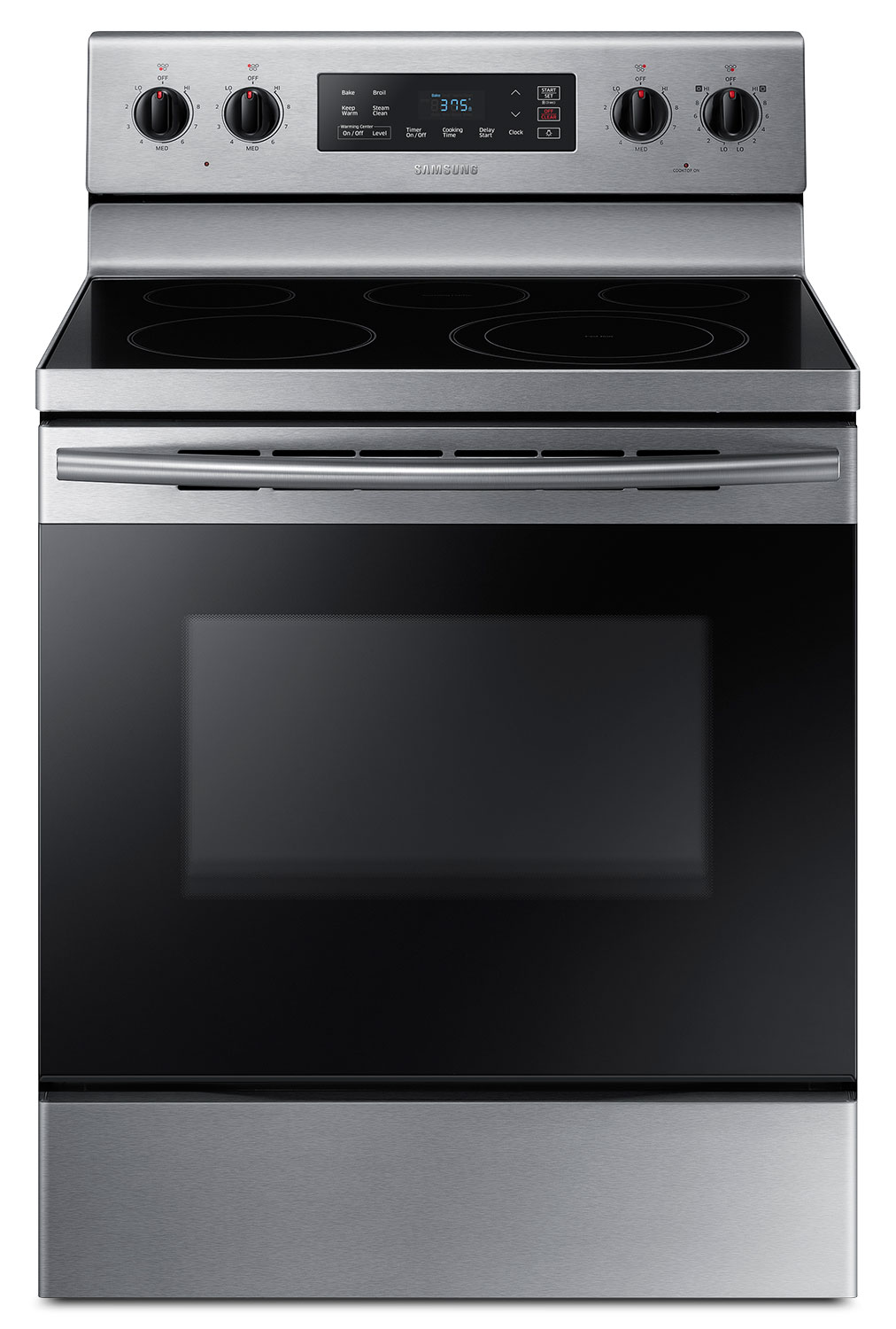 Cooking Products - Samsung 5.9 Cu. Ft. Freestanding Electric Range – NE59K3310SS/AC