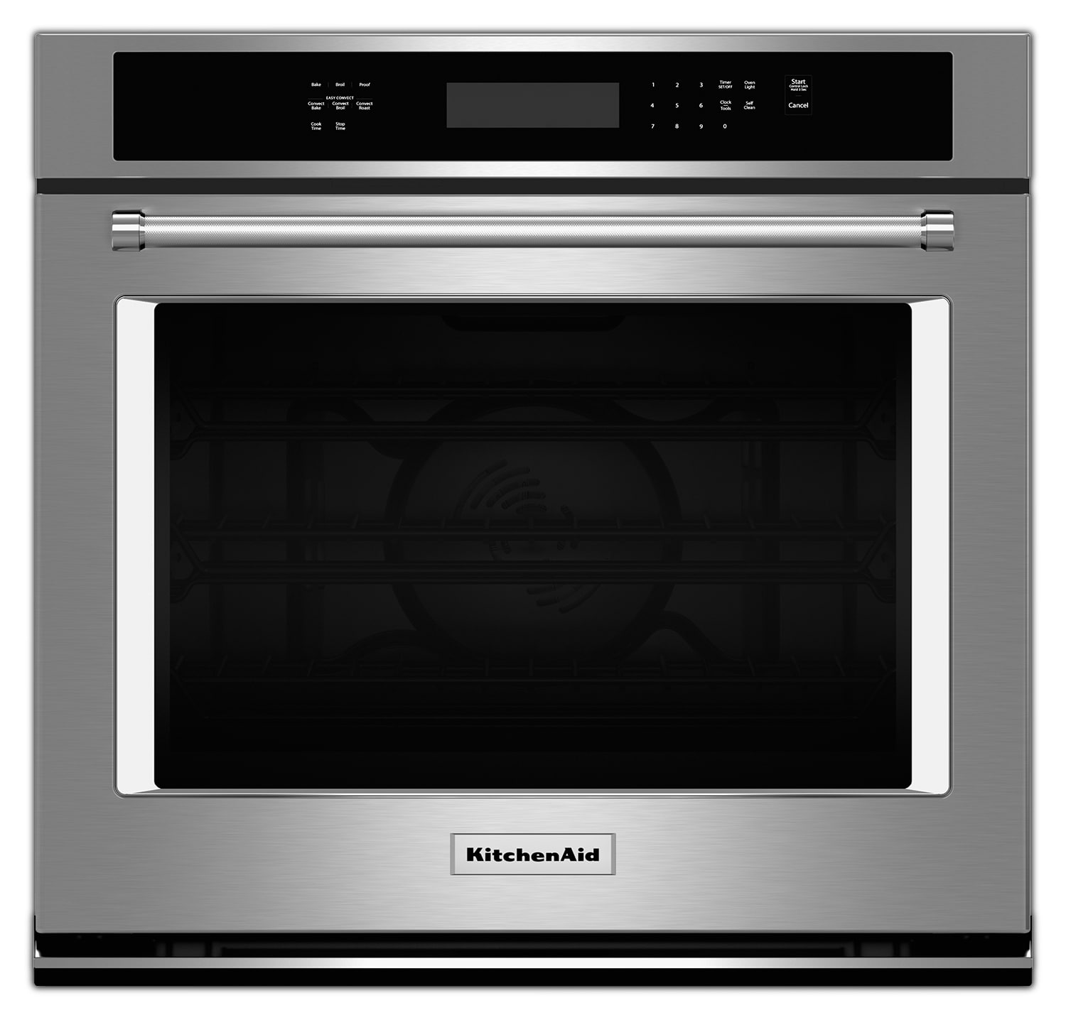 KitchenAid Stainless Steel Electric Wall Oven (4.3 Cu. Ft.) - KOSE507ESS