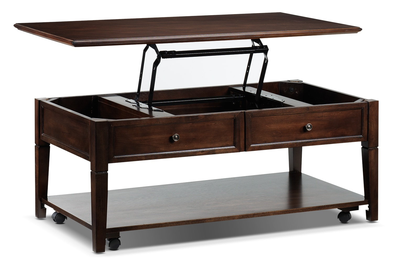 Coventry Lift Top Coffee Table Espresso Leon 39 S