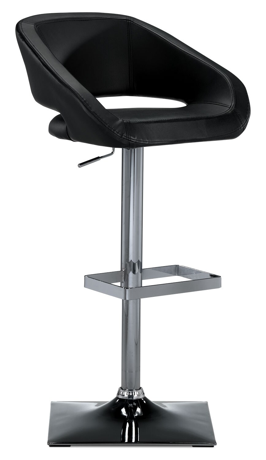 Accent and Occasional Furniture - Gustavo Barstool - Black