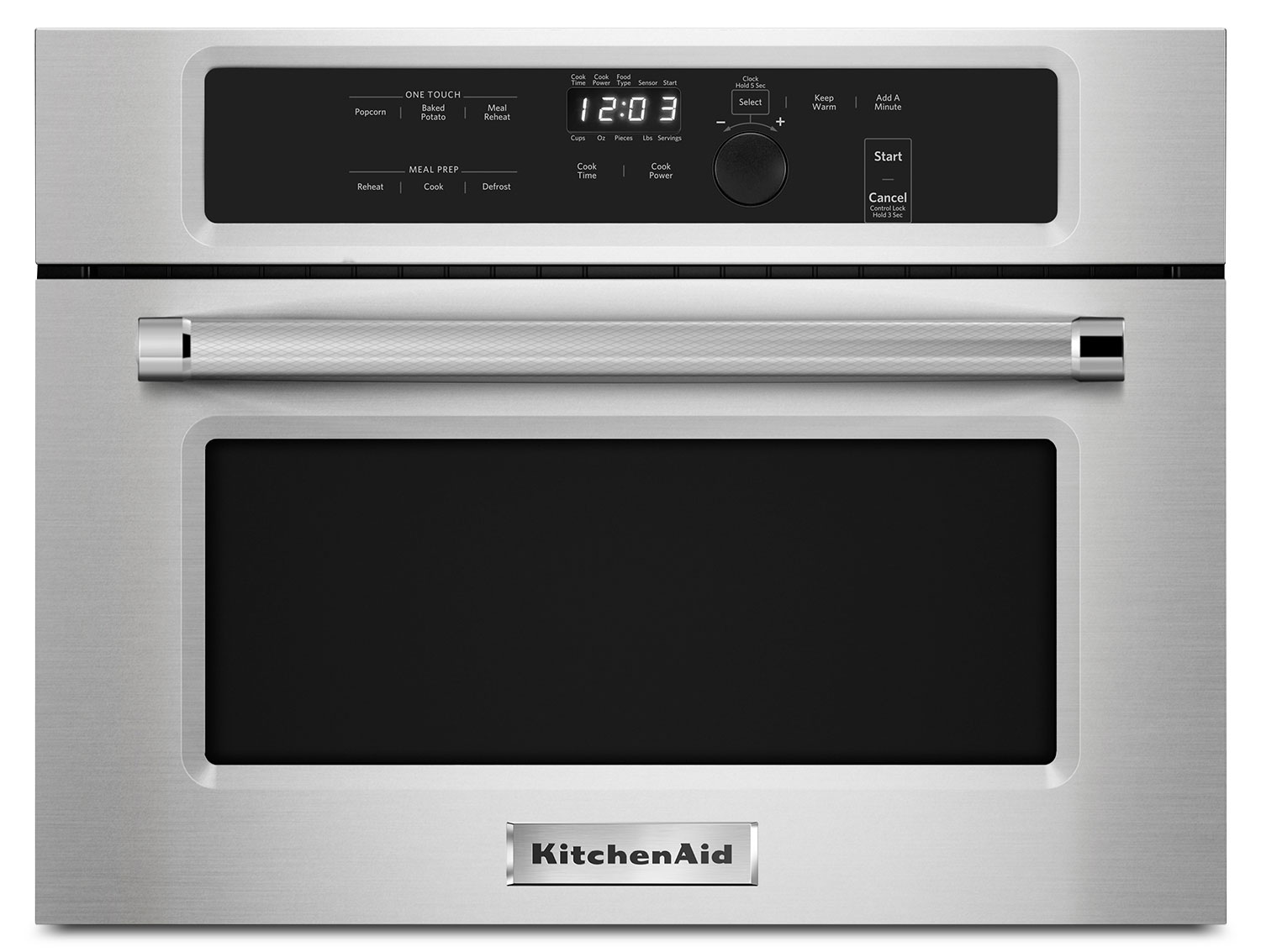 Cooking Products - KitchenAid 1.4 Cu. Ft. Built-In Microwave – KMBS104ESS