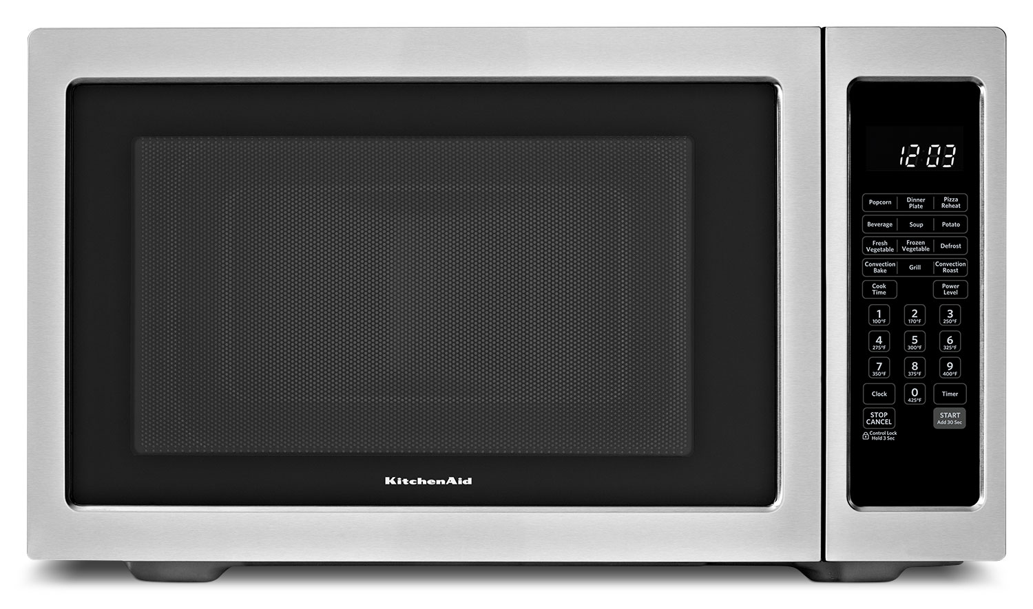 Cooking Products - KitchenAid Stainless Steel Countertop Convection Microwave (1.5 Cu. Ft.) - KCMC1575BSS