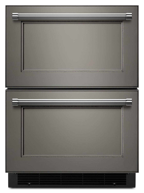 KitchenAid Custom Panel Ready Compact Refrigerator w/ Freezer Drawer (4.7 Cu. Ft.) - KUDF204EPA