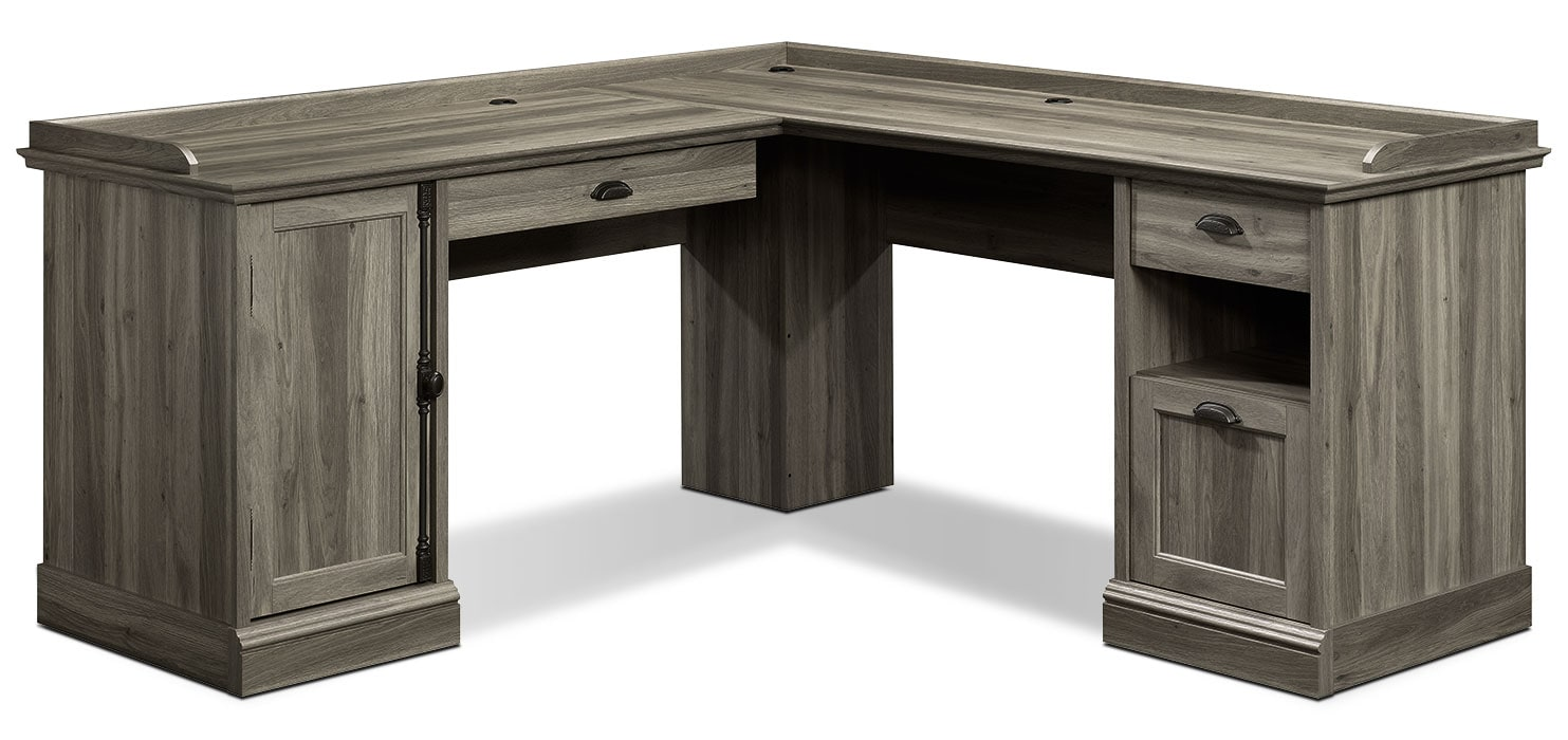 Barrister Lane Corner Desk - Salt Oak