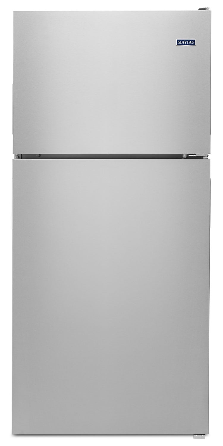 Refrigerators and Freezers - Maytag Stainless Steel Top-Freezer Refrigerator (18.15 Cu. Ft.) - MRT118FZEM