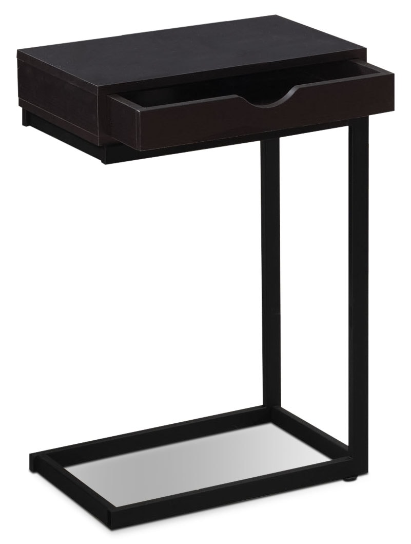Accent and Occasional Furniture - Dorset Accent Table – Cappuccino