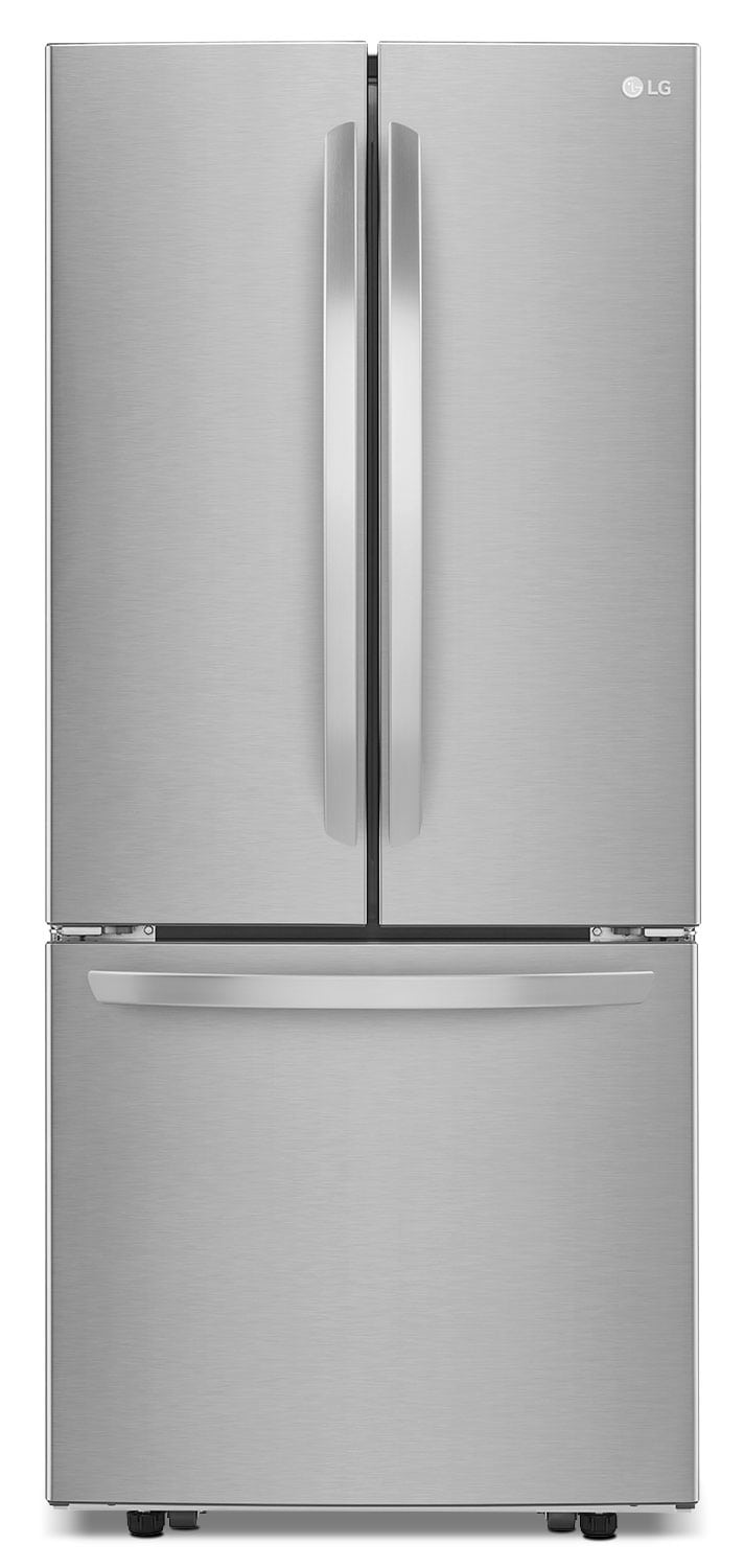 Refrigerators and Freezers - LG Stainless Steel French-Door Refrigerator (21.8 Cu. Ft.) - LFNS22520S