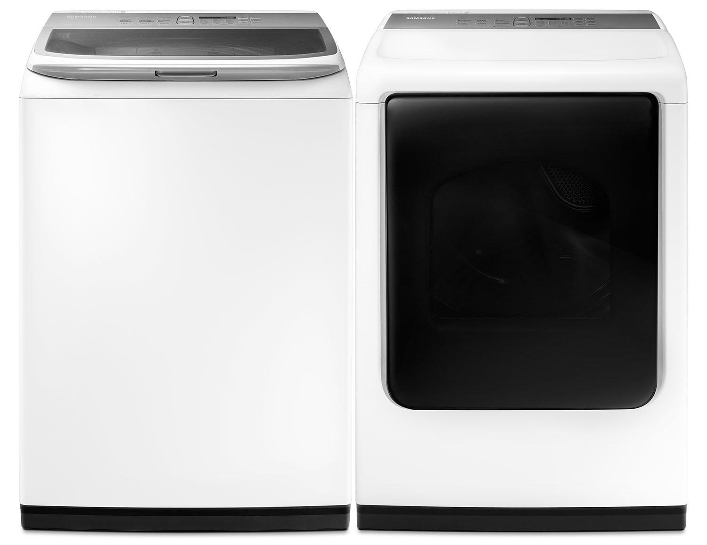 Samsung Laundry - WA45K7600AW/DV45K7600EW