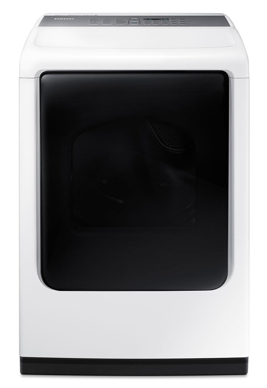Samsung White Electric Dryer with MultiSteam™ (7.4 Cu. Ft.) - DV45K7600EW/AC