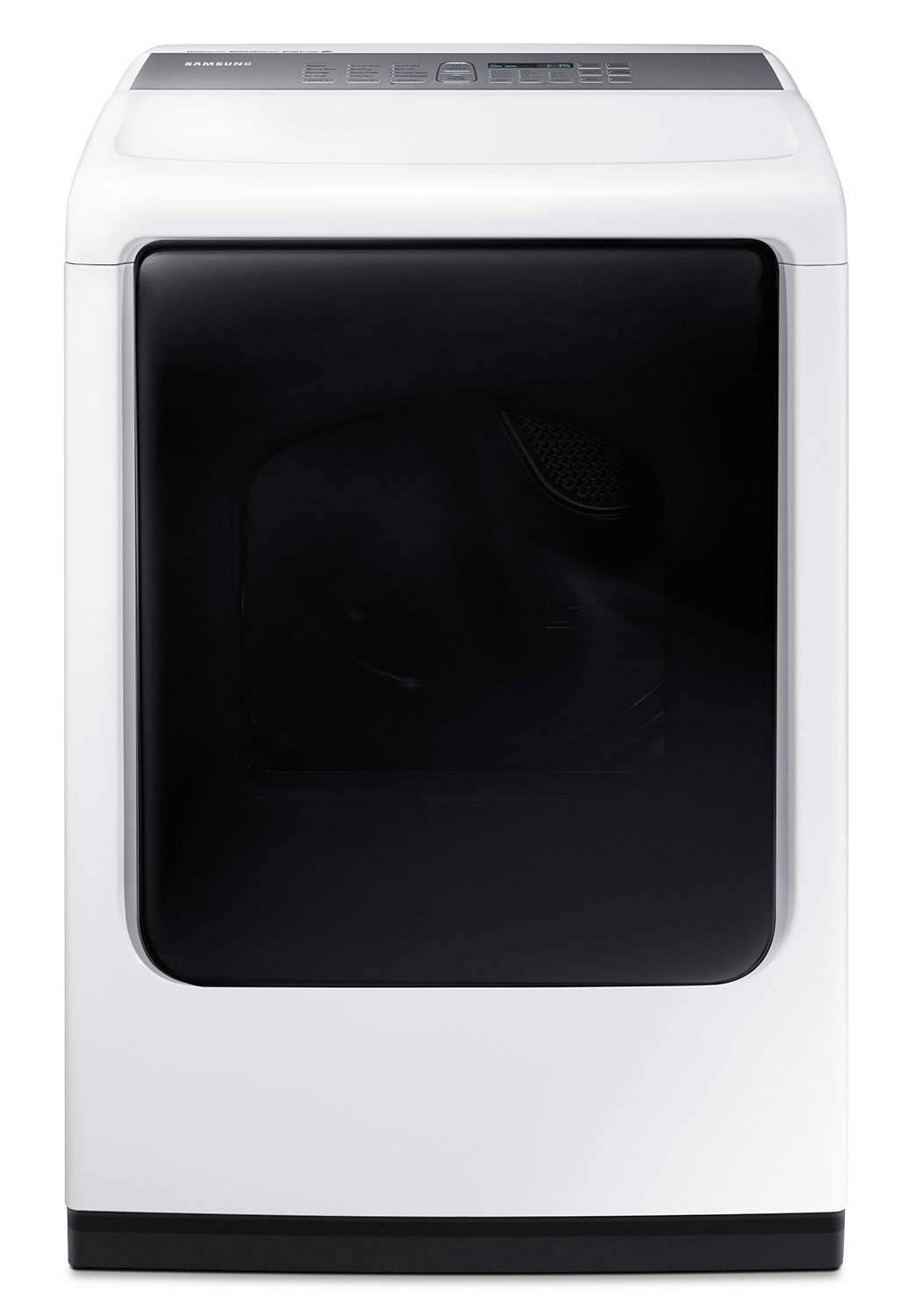 Washers and Dryers - Samsung White Electric Dryer with MultiSteam™ (7.4 Cu. Ft.) - DV45K7600EW/AC