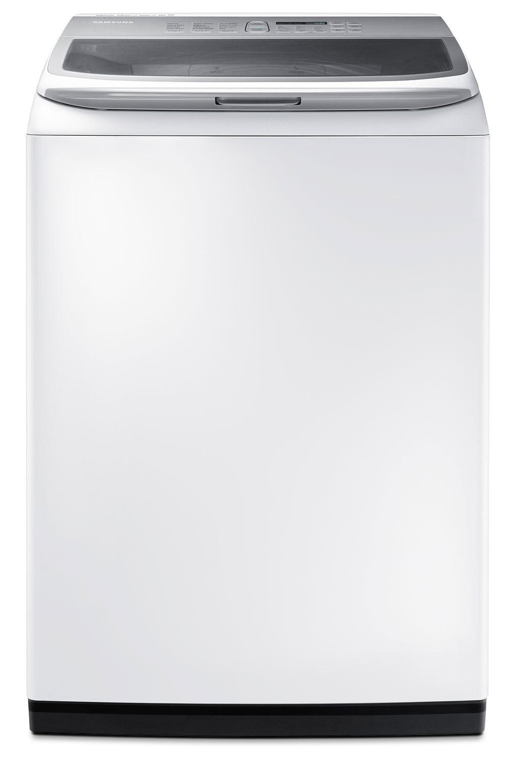 Washers and Dryers - Samsung White Top-Load Washer (5.2 Cu. Ft.) - WA45K7600AW/A2