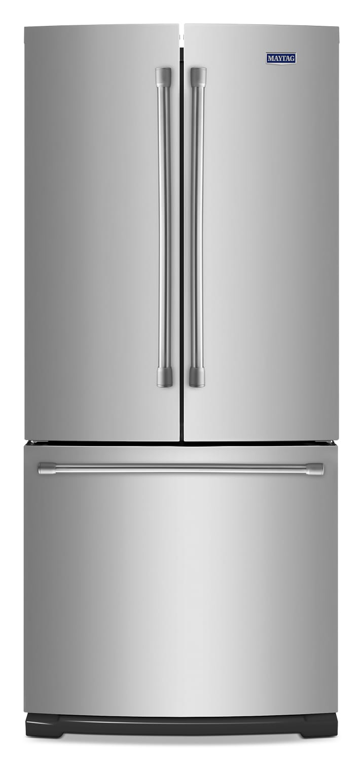 [Maytag Stainless Steel French-Door Refrigerator (19.7 Cu. Ft.) - MFB2055DRM]