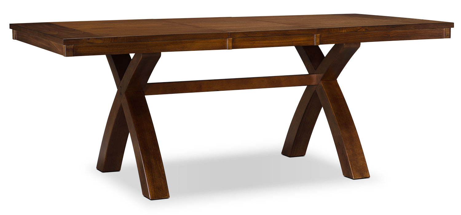 Dining Room Furniture - Mindy X-Base Dining Table