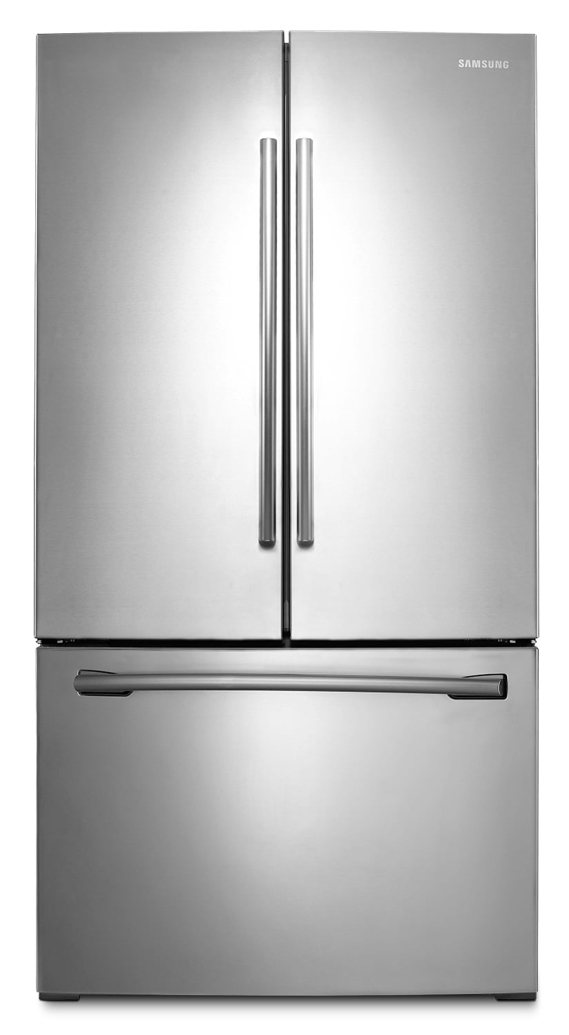 Refrigerators and Freezers - Samsung Stainless Steel French-Door Refrigerator (25.5 Cu. Ft.) - RF260BEAESR