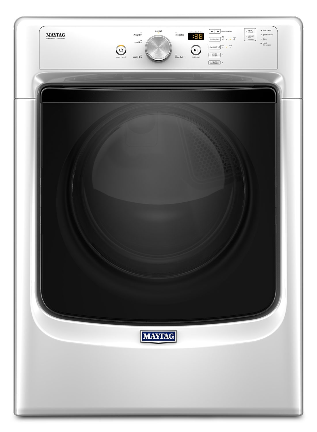 Maytag White Gas Dryer (7.4 Cu. Ft.) - MGD3500FW