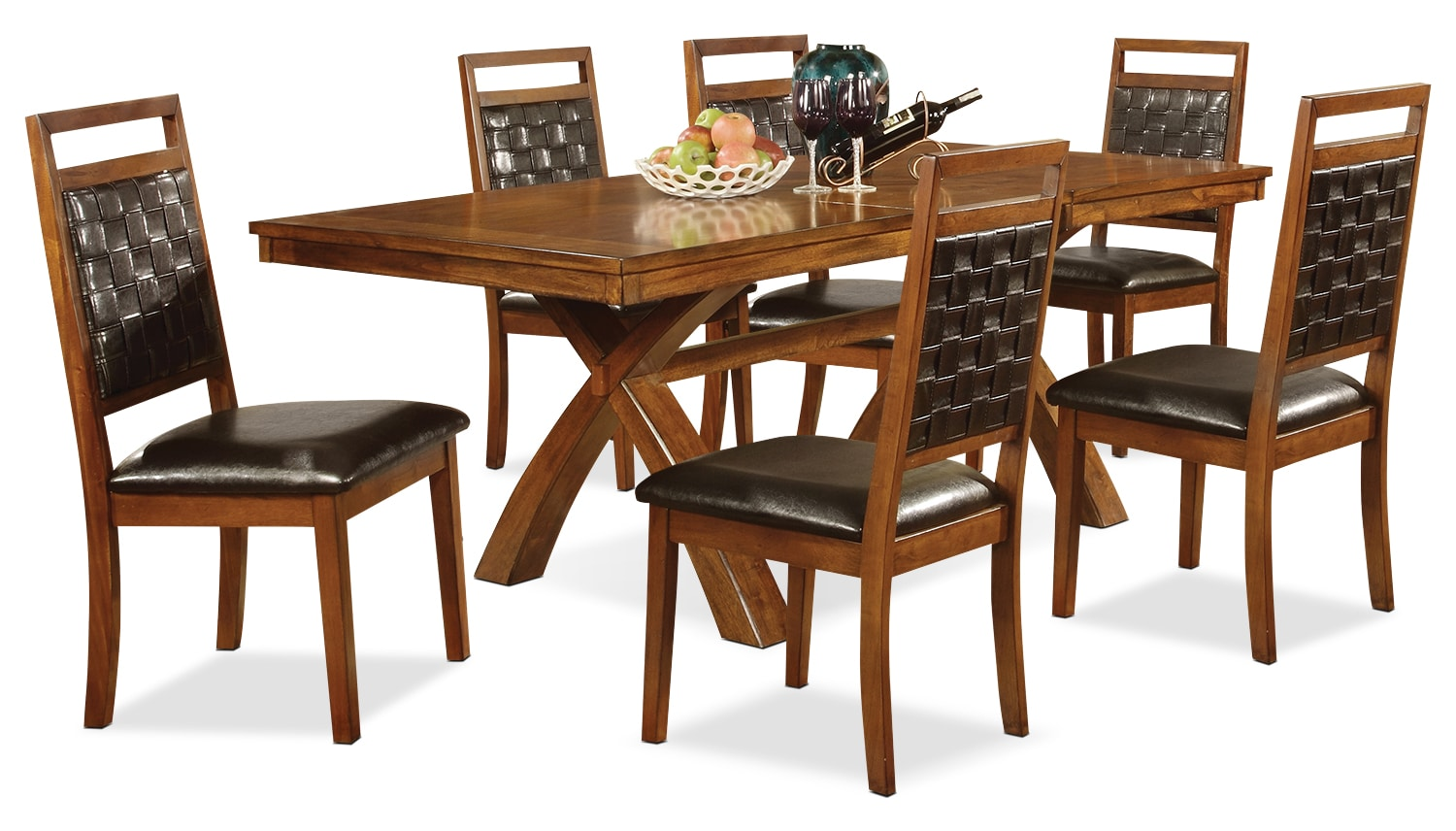 Dining Room Furniture - Mindy 7-Piece Dining Package