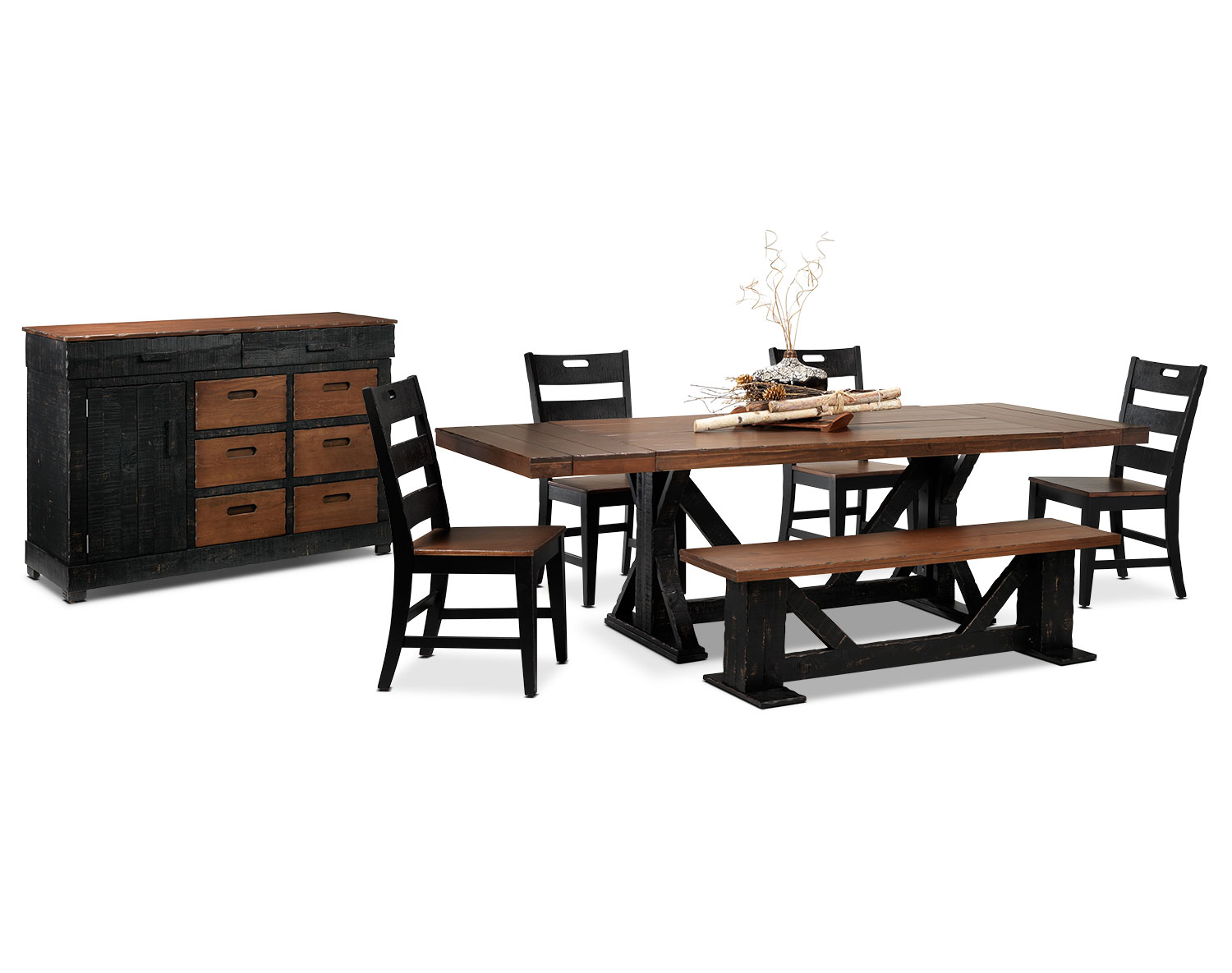 [The Larenzo Dining Room Collection]