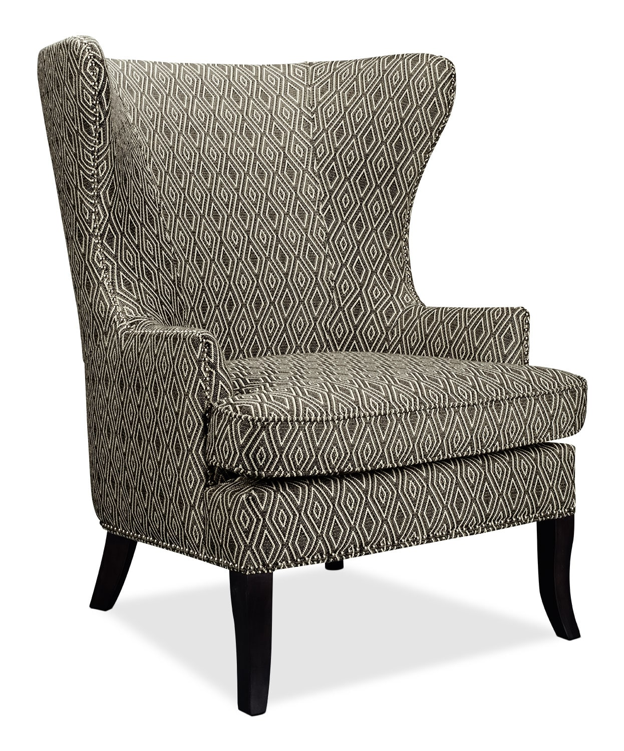 Oscar Fabric Accent Chair The Brick