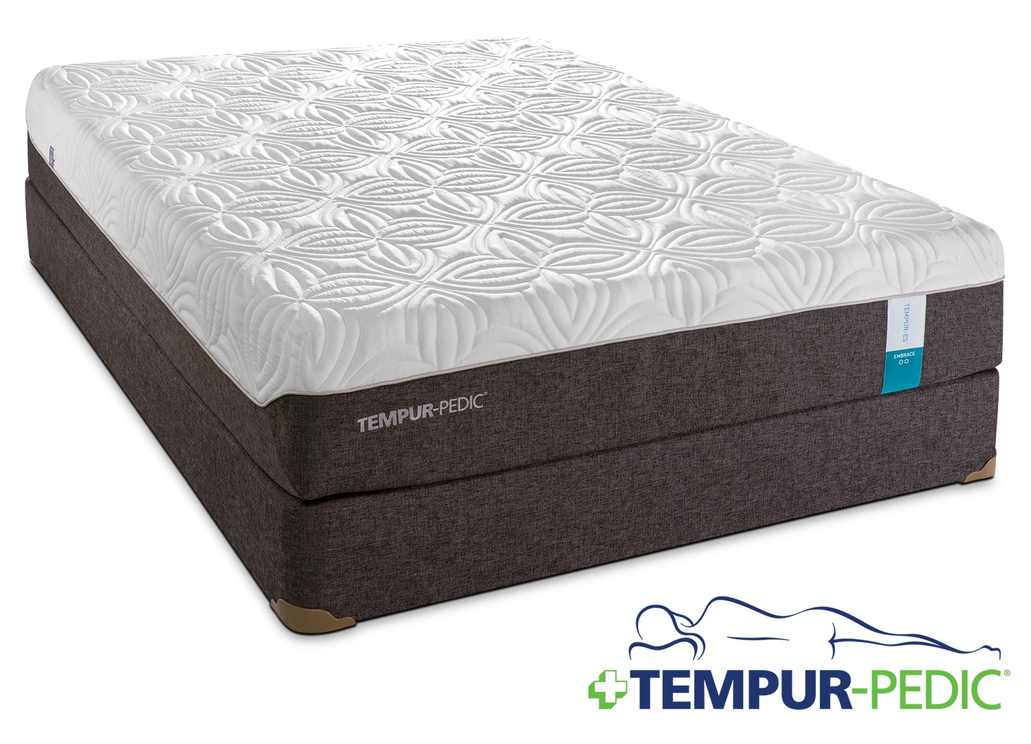 Mattresses and Bedding - Tempur-Pedic Embrace Queen Mattress/Boxspring Set