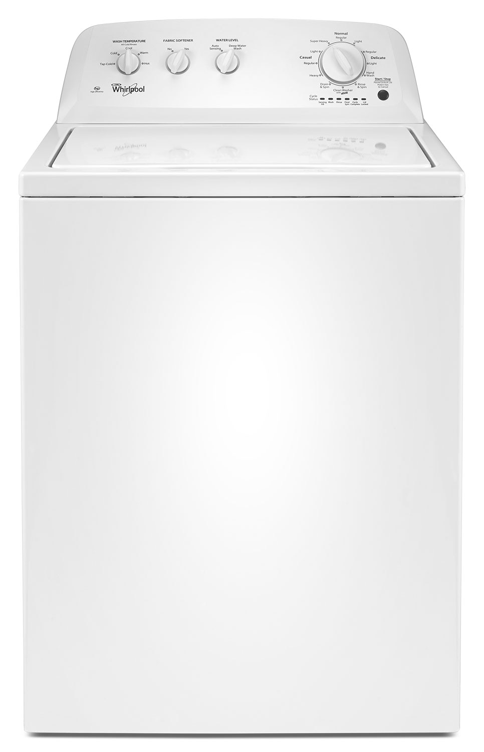 Washers and Dryers - Whirlpool 4.0 Cu. Ft. Top-Load Washer – WTW4616FW