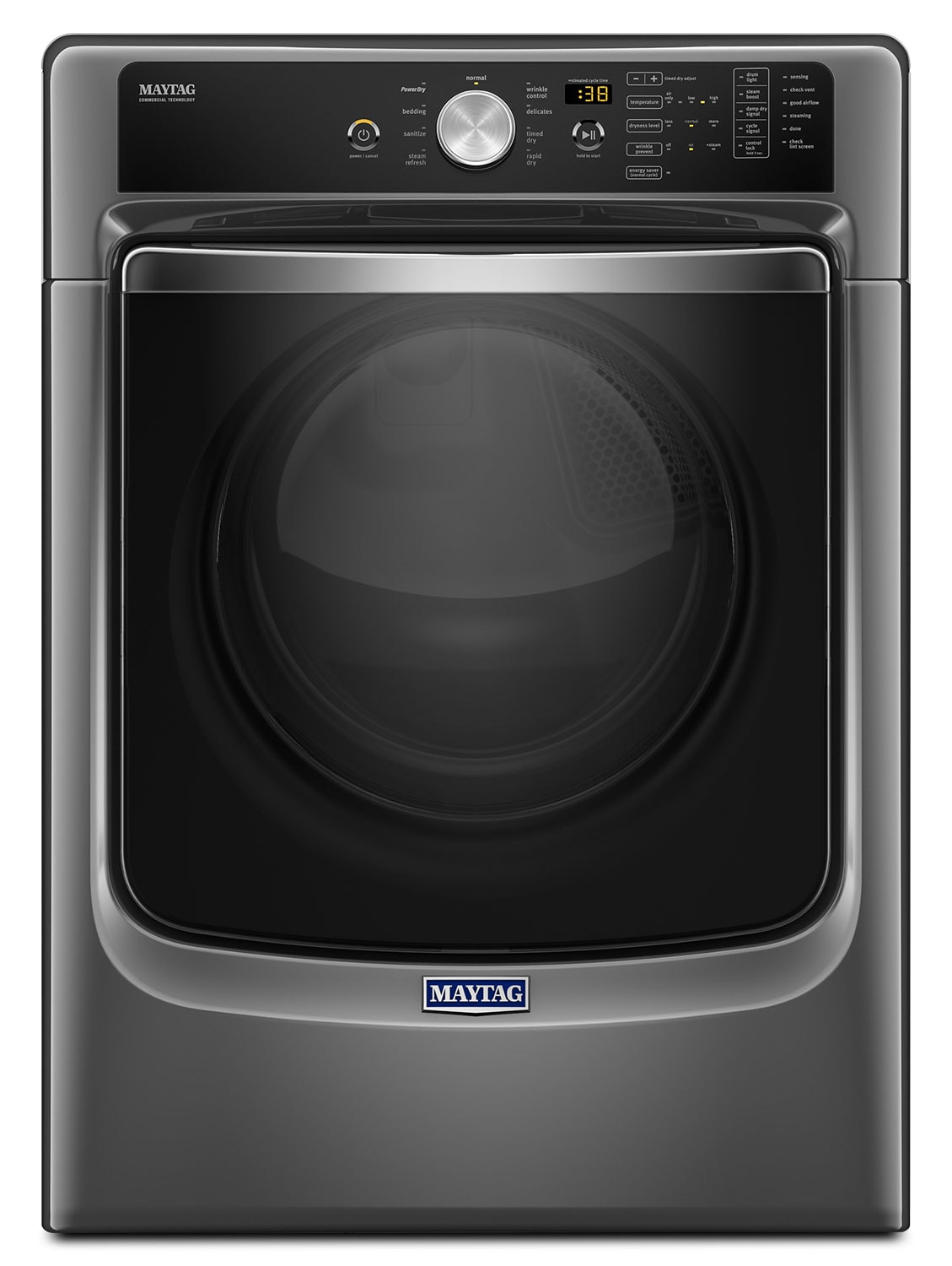 Maytag Metallic Slate Gas Dryer (7.4 Cu. Ft.) - MGD5500FC