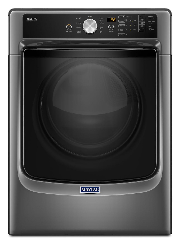 Maytag Metallic Slate Electric Dryer 7 4 Cu Ft