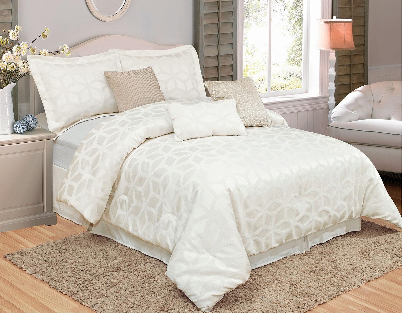Geo 7-Piece Queen Comforter Set