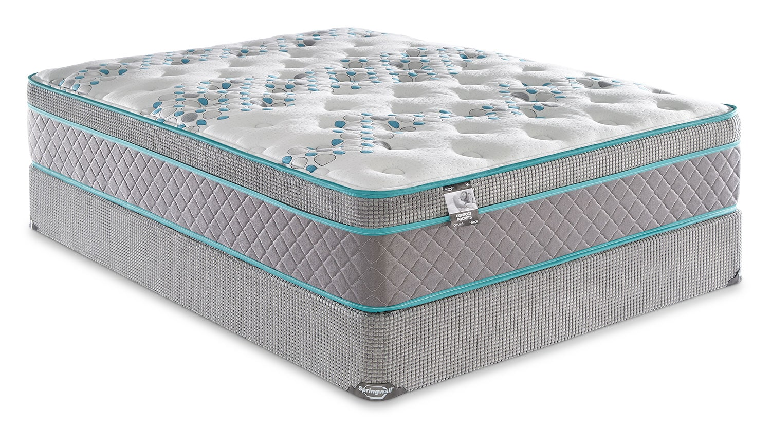 Springwall Cosmo Euro-Top Full Mattress Set