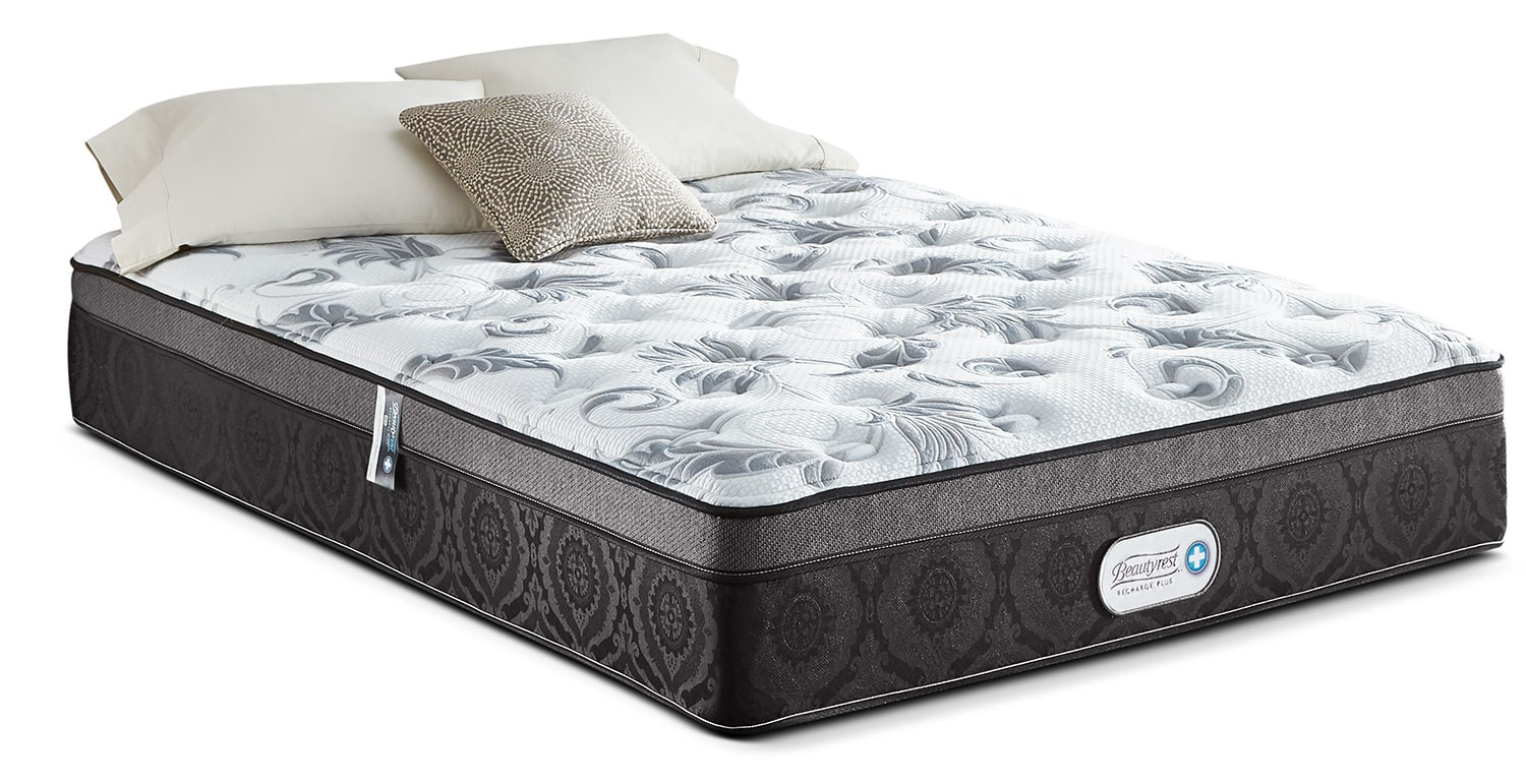 Mattresses and Bedding - Beautyrest® Recharge Plus Allure Ultra Euro-Top Twin Mattress