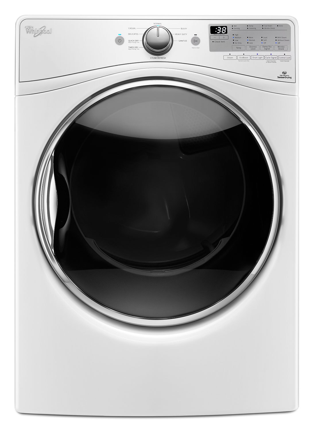 Washers and Dryers - Whirlpool 7.4 Cu. Ft. Gas Dryer – WGD90HEFW