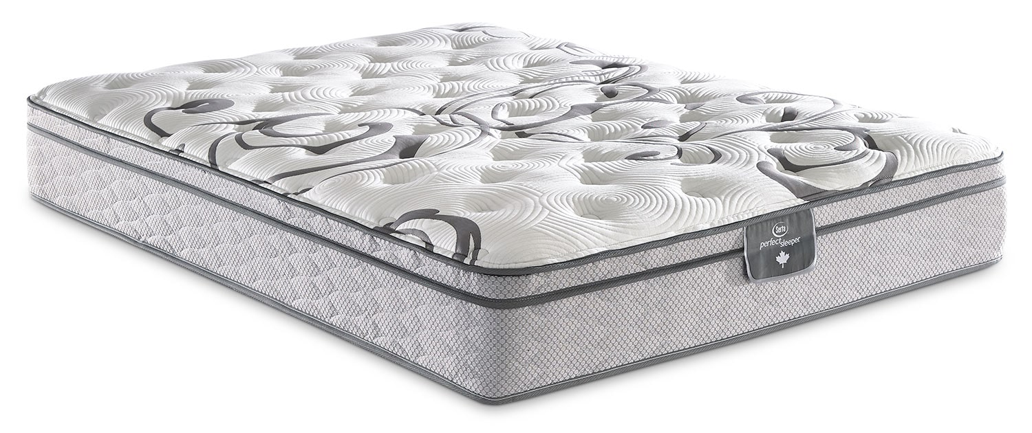 Mattresses and Bedding - Serta Perfect Sleeper Dovington Euro-Top Firm Twin Mattress