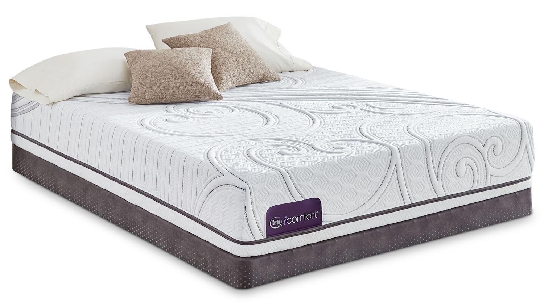 Mattresses and Bedding - Serta iComfort Intellectual 2 Firm Queen Mattress Set
