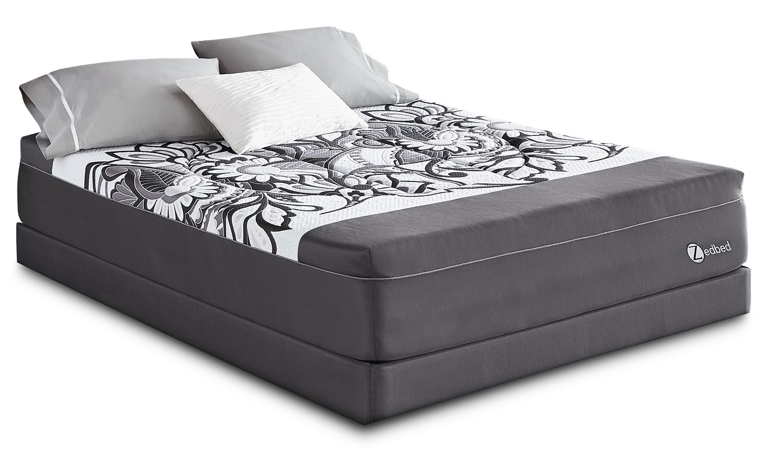 Mattresses and Bedding - Zedbed Vertuo Deluxe Tight-Top Queen Mattress Set