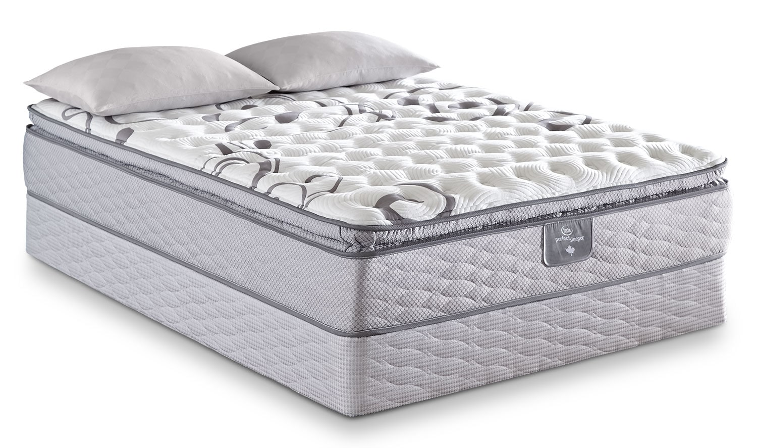 Serta Perfect Sleeper Valebridge Pillow-Top Firm Queen Mattress Set