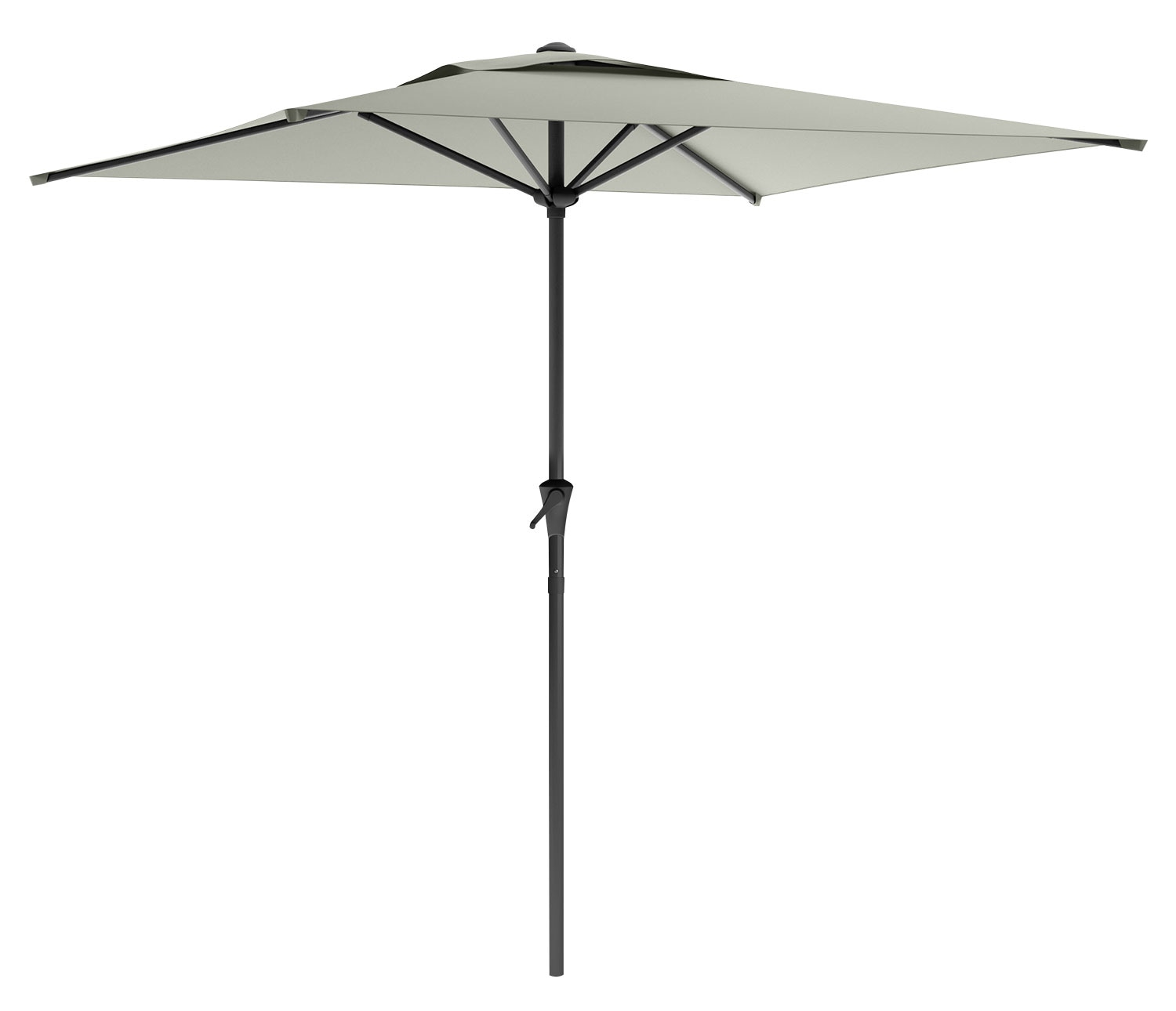 Square Patio Umbrella – Sandy Grey