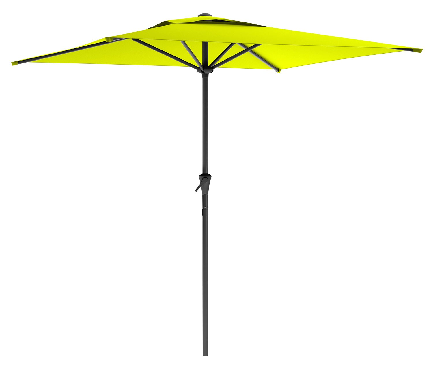 Outdoor Furniture - Square Patio Umbrella – Lime Green