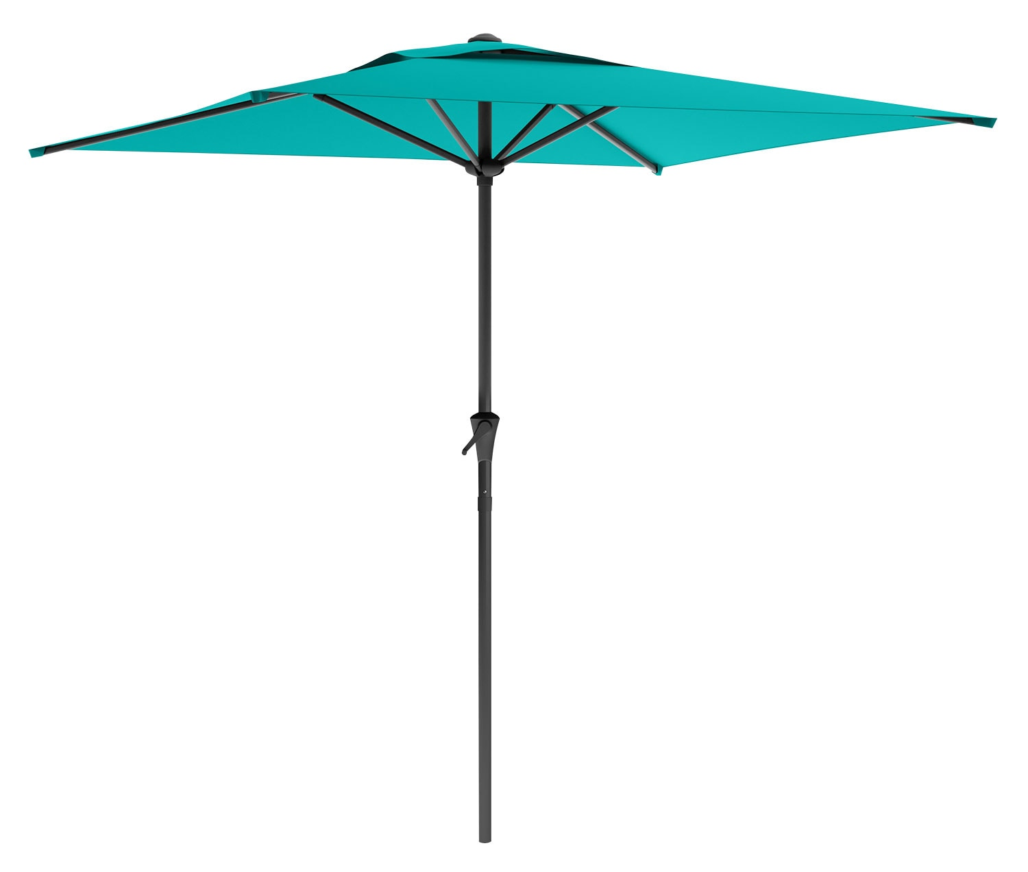 Square Patio Umbrella – Turquoise Blue