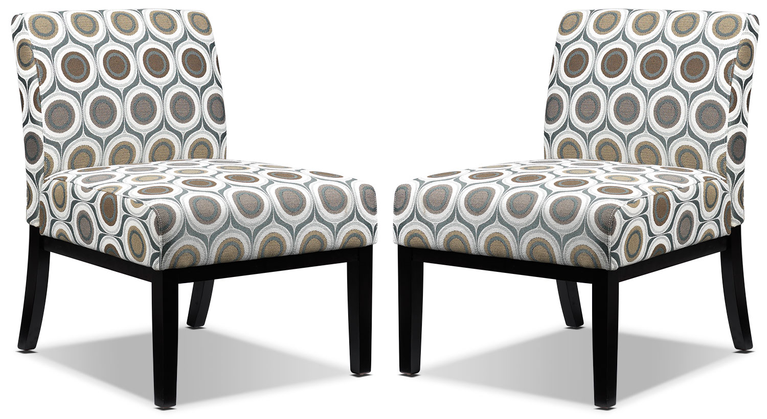 Accent and Occasional Furniture - Audrina 2-Piece Accent Chair Set