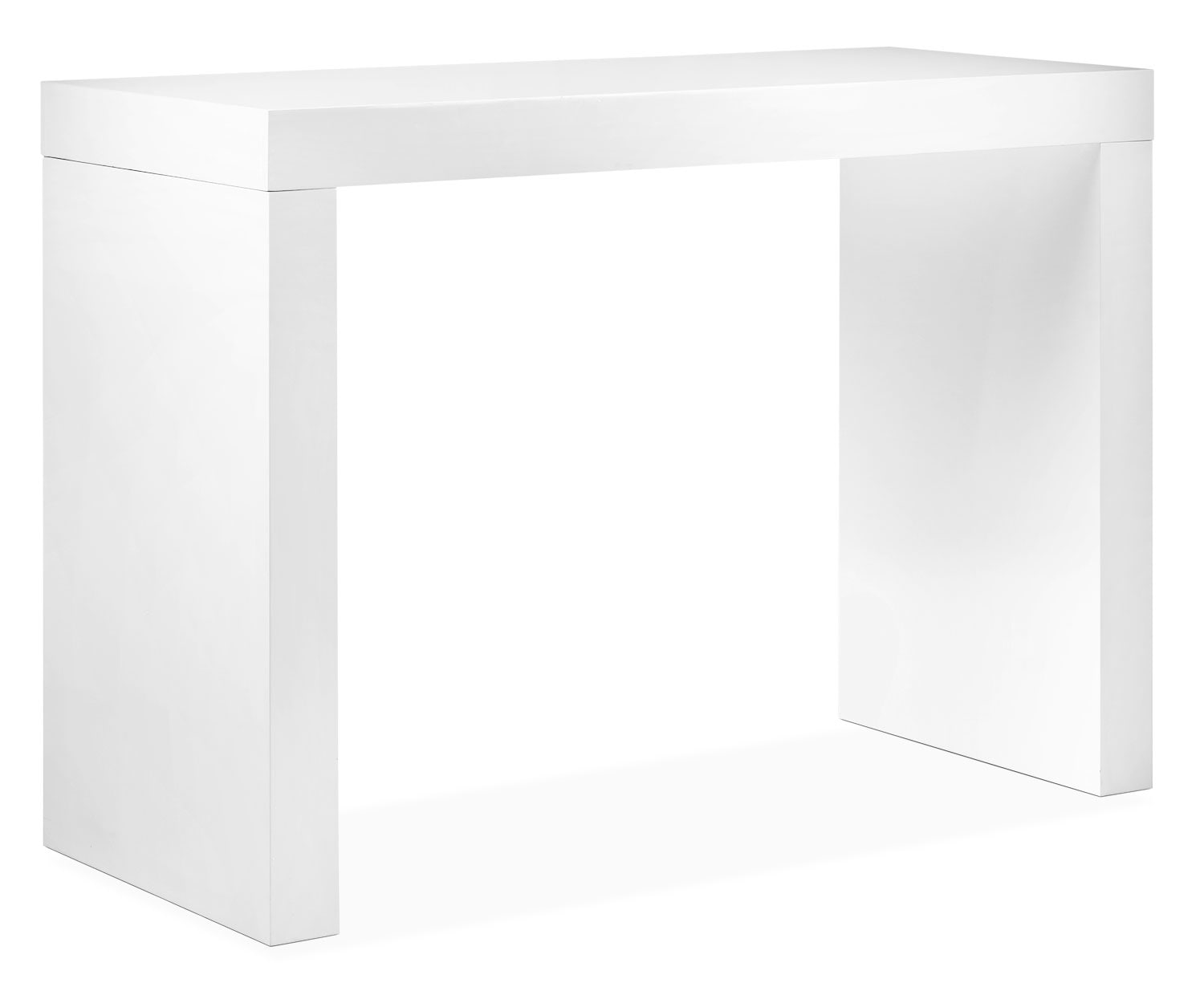 emile bar table  white  leon's -  bar table  white hover to zoom