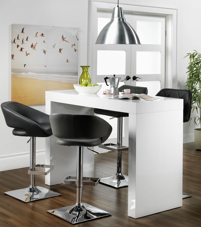 emile bar table  white  leon's - click to change image